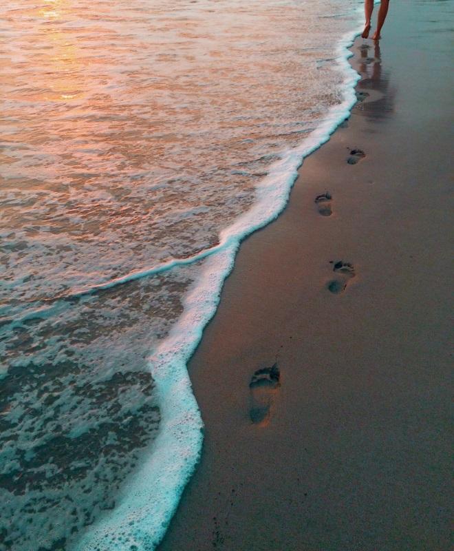 plage vague